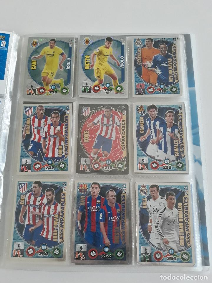 Coleccionismo deportivo: Adrenalyn ADRENALYN XL 2014/2015 14/15 - 497 cromos cards diferentes - Foto 2 - 175183479