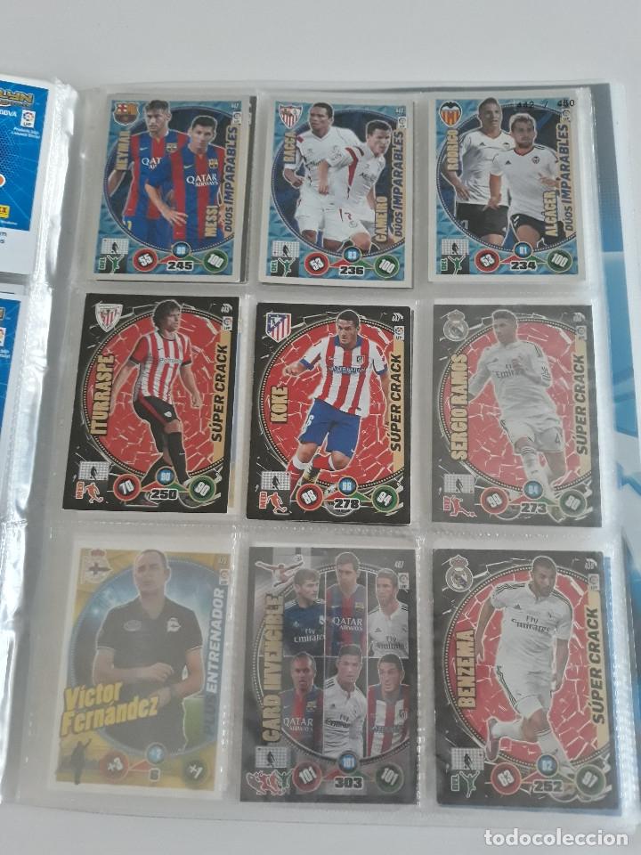 Coleccionismo deportivo: Adrenalyn ADRENALYN XL 2014/2015 14/15 - 497 cromos cards diferentes - Foto 3 - 175183479