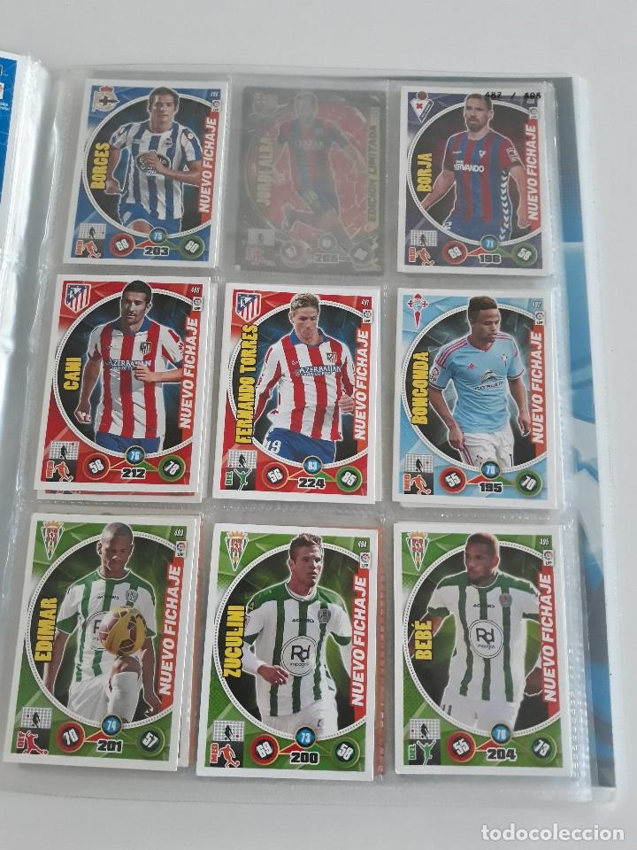 Coleccionismo deportivo: Adrenalyn ADRENALYN XL 2014/2015 14/15 - 497 cromos cards diferentes - Foto 8 - 175183479