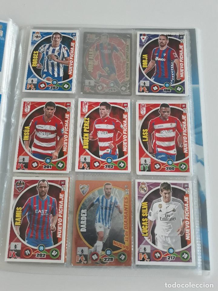 Coleccionismo deportivo: Adrenalyn ADRENALYN XL 2014/2015 14/15 - 497 cromos cards diferentes - Foto 9 - 175183479