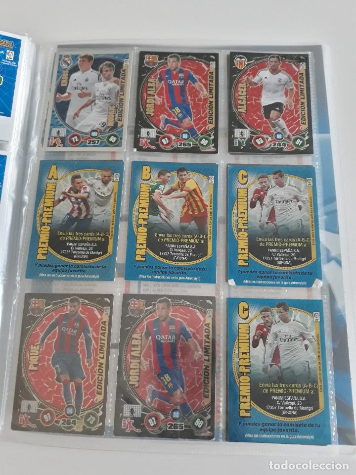 Coleccionismo deportivo: Adrenalyn ADRENALYN XL 2014/2015 14/15 - 497 cromos cards diferentes - Foto 12 - 175183479