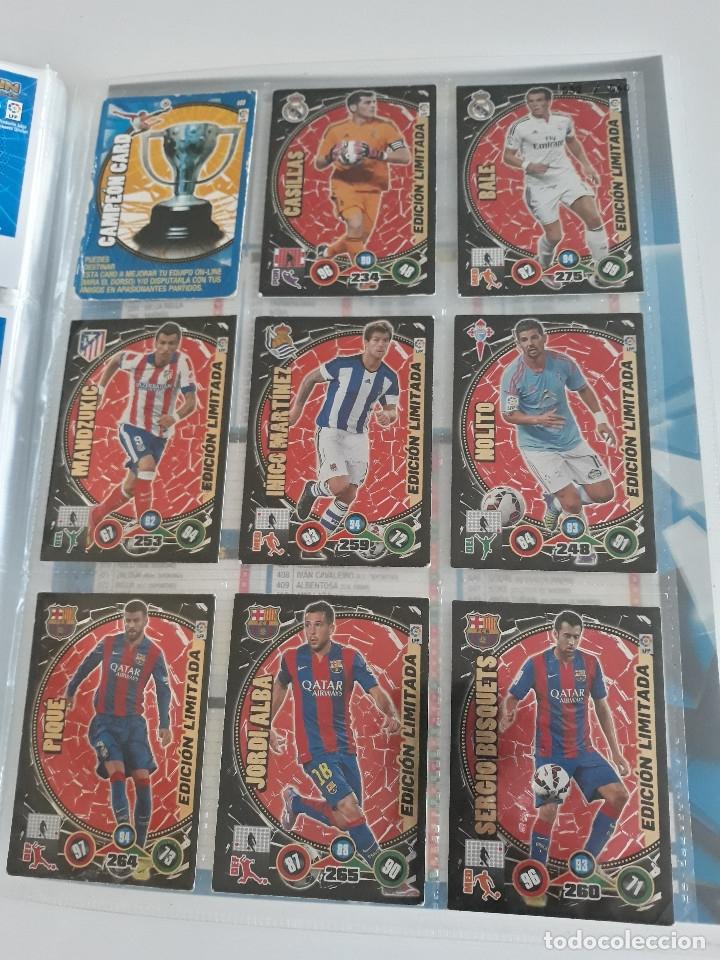 Coleccionismo deportivo: Adrenalyn ADRENALYN XL 2014/2015 14/15 - 497 cromos cards diferentes - Foto 13 - 175183479