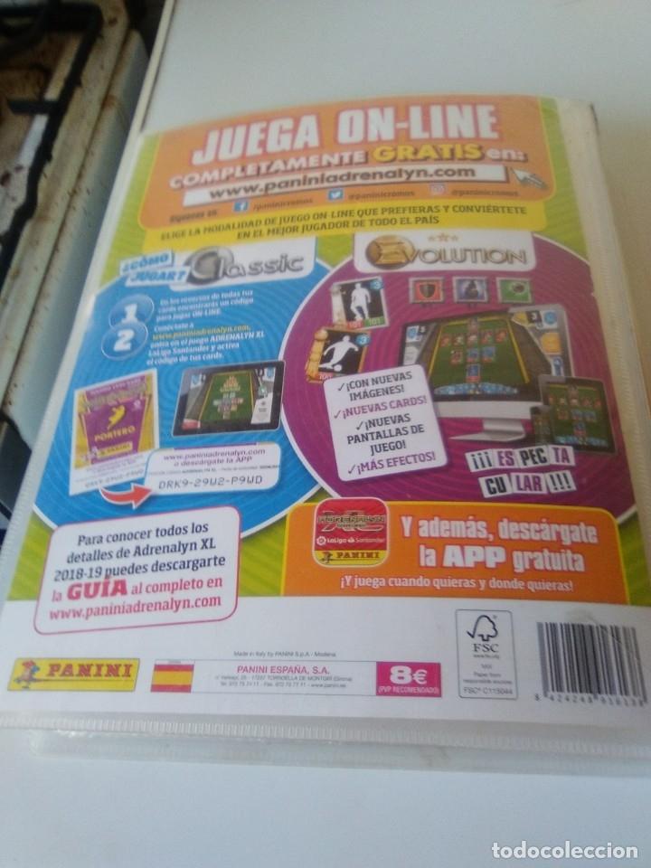 Coleccionismo deportivo: ÁLBUM ARCHIVADOR ADRENALYN 2011-12 CON 242 CARDS SIN REPETIR ADRENALYN XL 11-12 - Foto 3 - 175448669