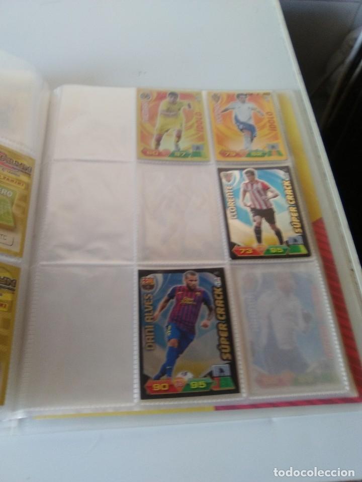 Coleccionismo deportivo: ÁLBUM ARCHIVADOR ADRENALYN 2011-12 CON 242 CARDS SIN REPETIR ADRENALYN XL 11-12 - Foto 4 - 175448669