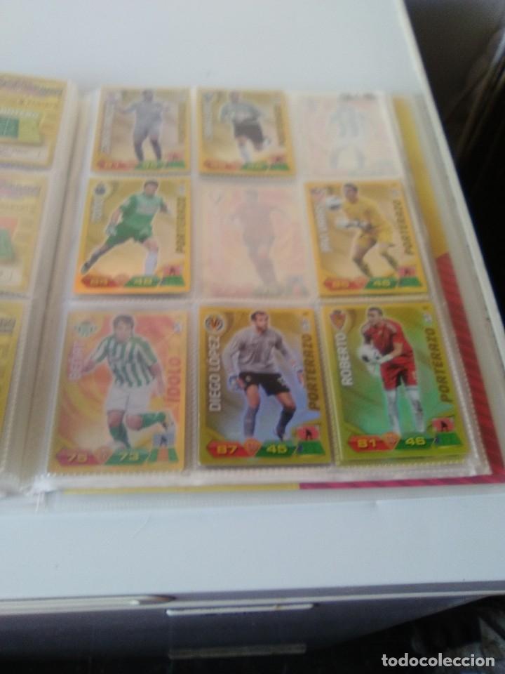 Coleccionismo deportivo: ÁLBUM ARCHIVADOR ADRENALYN 2011-12 CON 242 CARDS SIN REPETIR ADRENALYN XL 11-12 - Foto 5 - 175448669