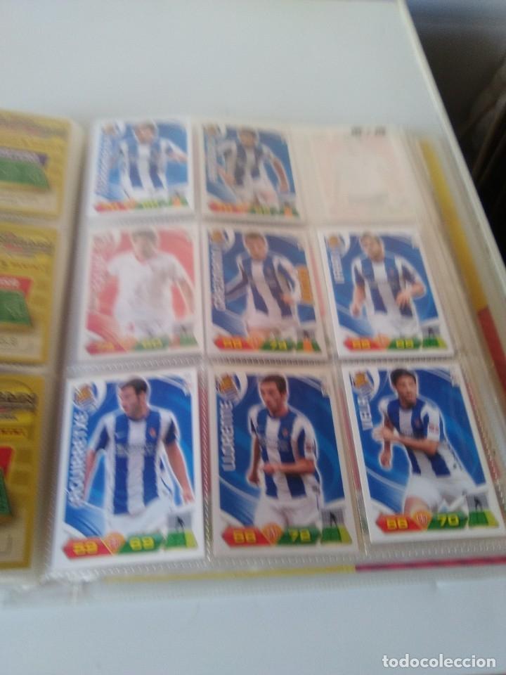 Coleccionismo deportivo: ÁLBUM ARCHIVADOR ADRENALYN 2011-12 CON 242 CARDS SIN REPETIR ADRENALYN XL 11-12 - Foto 7 - 175448669