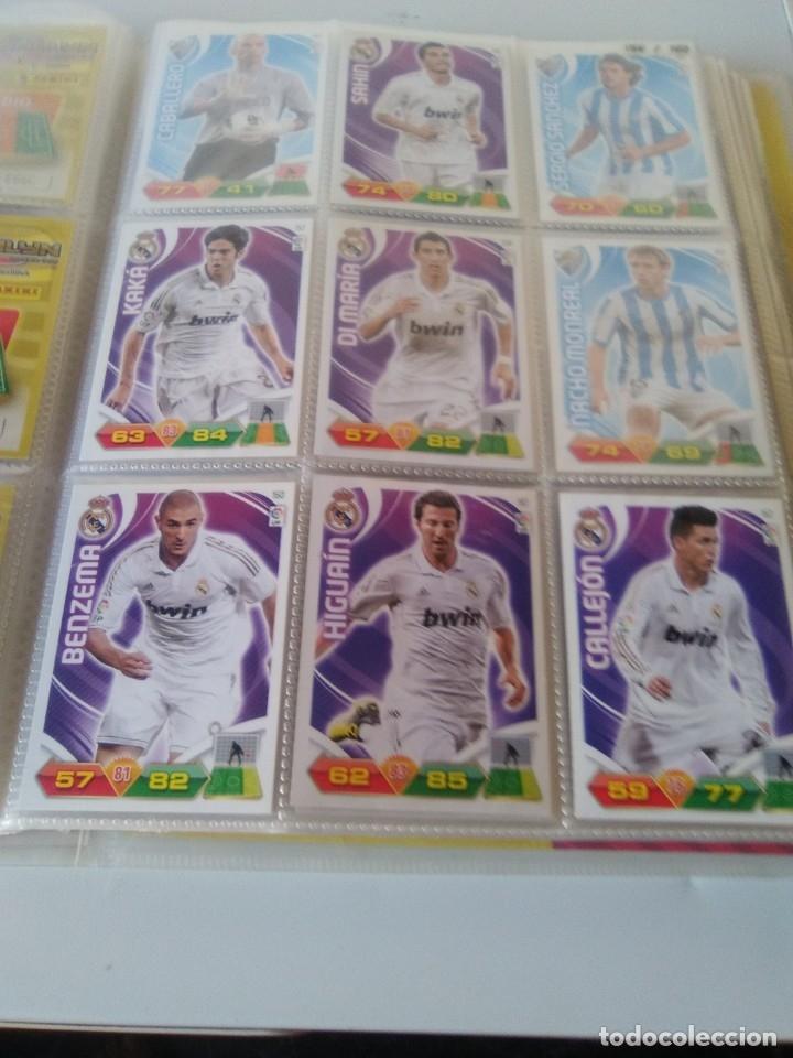 Coleccionismo deportivo: ÁLBUM ARCHIVADOR ADRENALYN 2011-12 CON 242 CARDS SIN REPETIR ADRENALYN XL 11-12 - Foto 8 - 175448669
