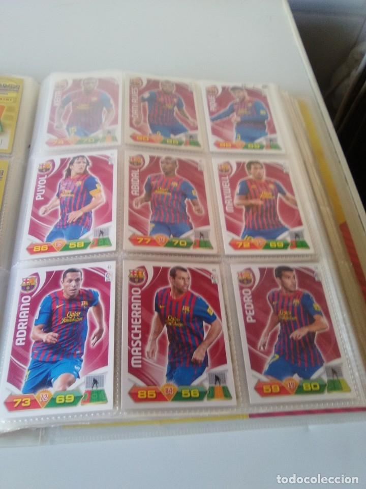 Coleccionismo deportivo: ÁLBUM ARCHIVADOR ADRENALYN 2011-12 CON 242 CARDS SIN REPETIR ADRENALYN XL 11-12 - Foto 9 - 175448669