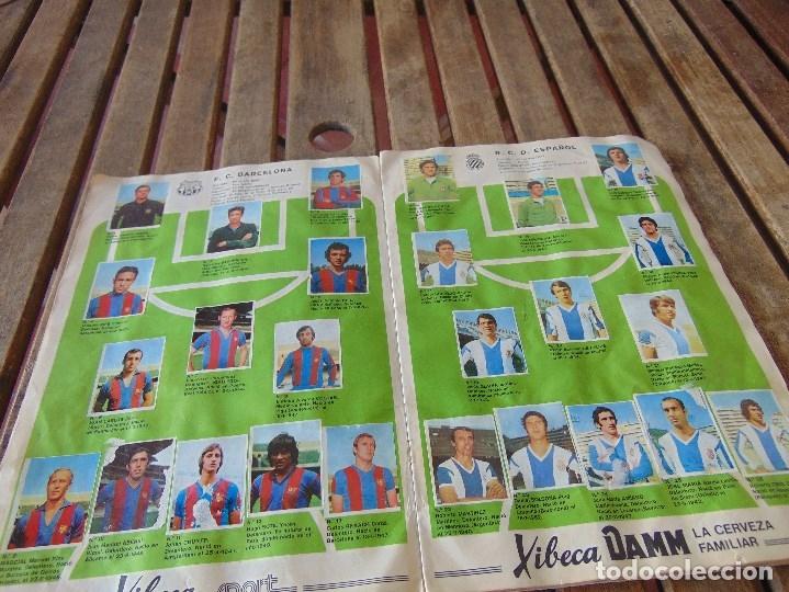 Coleccionismo deportivo: ALBUM DE FUTBO 1974 XIBECA SPORT CERVEZAS DAMM PRIMERA DIVISION SELECCIONES DE MUNICH - Foto 4 - 175569674