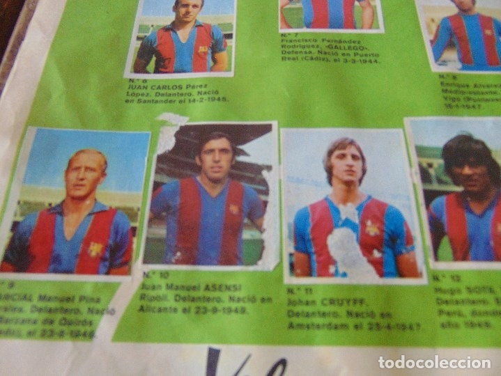 Coleccionismo deportivo: ALBUM DE FUTBO 1974 XIBECA SPORT CERVEZAS DAMM PRIMERA DIVISION SELECCIONES DE MUNICH - Foto 5 - 175569674