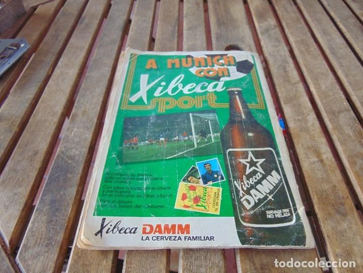 Coleccionismo deportivo: ALBUM DE FUTBO 1974 XIBECA SPORT CERVEZAS DAMM PRIMERA DIVISION SELECCIONES DE MUNICH - Foto 25 - 175569674
