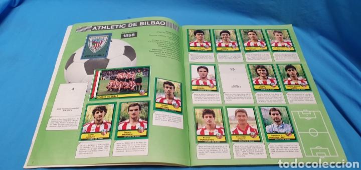 Coleccionismo deportivo: Album de cromos panini futbol 90 incompleto con póster completo en el interior - Foto 3 - 175769604