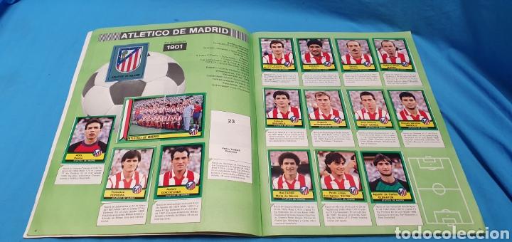 Coleccionismo deportivo: Album de cromos panini futbol 90 incompleto con póster completo en el interior - Foto 4 - 175769604