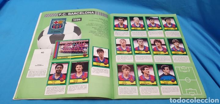 Coleccionismo deportivo: Album de cromos panini futbol 90 incompleto con póster completo en el interior - Foto 5 - 175769604