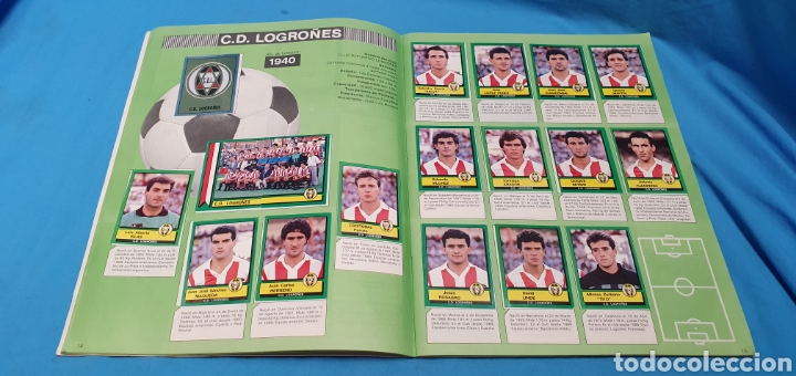 Coleccionismo deportivo: Album de cromos panini futbol 90 incompleto con póster completo en el interior - Foto 9 - 175769604