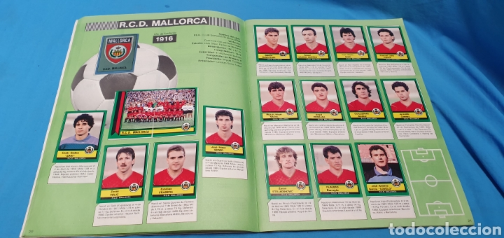 Coleccionismo deportivo: Album de cromos panini futbol 90 incompleto con póster completo en el interior - Foto 12 - 175769604