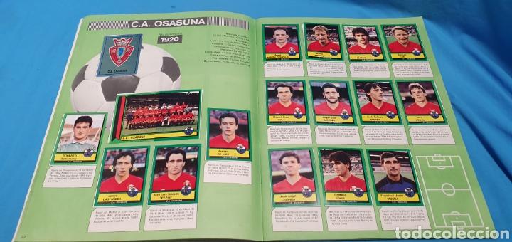 Coleccionismo deportivo: Album de cromos panini futbol 90 incompleto con póster completo en el interior - Foto 13 - 175769604