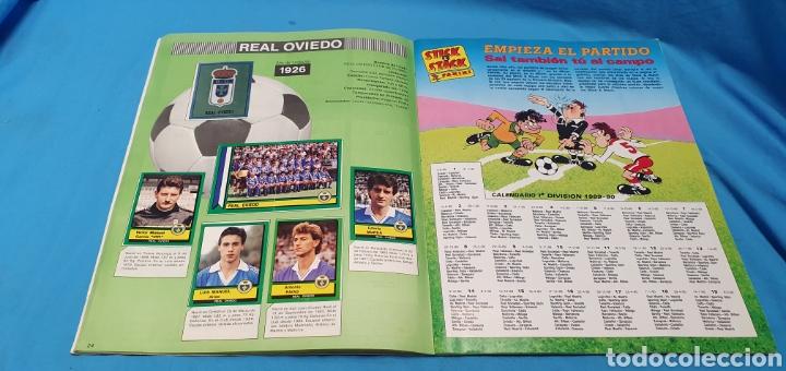 Coleccionismo deportivo: Album de cromos panini futbol 90 incompleto con póster completo en el interior - Foto 14 - 175769604