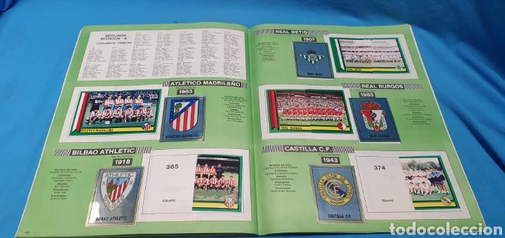 Coleccionismo deportivo: Album de cromos panini futbol 90 incompleto con póster completo en el interior - Foto 25 - 175769604