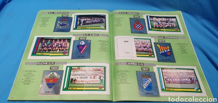 Coleccionismo deportivo: Album de cromos panini futbol 90 incompleto con póster completo en el interior - Foto 26 - 175769604