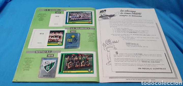 Coleccionismo deportivo: Album de cromos panini futbol 90 incompleto con póster completo en el interior - Foto 28 - 175769604