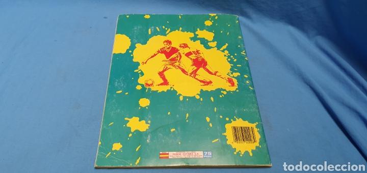 Coleccionismo deportivo: Album de cromos panini futbol 90 incompleto con póster completo en el interior - Foto 29 - 175769604