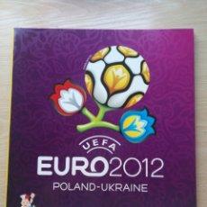 Coleccionismo deportivo: ALBUM CROMOS VACIO EURO2012 POLAND UKRAINE EUROCOPA FUTBOL POLONIA UCRANIA 2012 12 PANINI. Lote 222748127