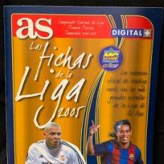 Coleccionismo deportivo: LAS FICHAS DE LA LIGA 2005 ALBUM, CONTIENE 218 CROMOS. MUY BUEN ESTADO. TODAS LAS PAGS FOTOGRAFIADAS. Lote 175826330