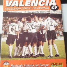 Coleccionismo deportivo: CROMOS ÁLBUM FÚTBOL VALENCIA C.F. 2000 2001 ED. PANINI. Lote 175924047