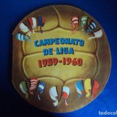 Coleccionismo deportivo: (AL-190907)ALBUM CROMOS CAMPEONATO DE LIGA 1959-1960 - EDITORIAL FHER - KUBALA,DI STEFANO,ETC. Lote 175976597