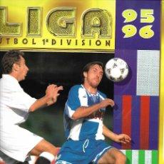 Coleccionismo deportivo: ALBUM DE LA LIGA DE PRIMERA DIVISION DE 95/96 CON 342 CROMOS MUY BUEN ESTADO. Lote 176104434