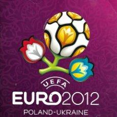Coleccionismo deportivo: ALBUM DE LA UEFA EURO 2012 CON 391 CROMOS EN BUEN ESTADO. Lote 176112359