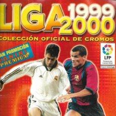 Coleccionismo deportivo: ALBUM DE LA LIGA 1999/2000 DE PANINI CON 255 CROMOS BUEN ESTADO. Lote 176115165