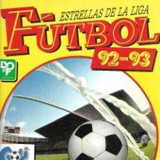 Coleccionismo deportivo: ALBUM DE FUTBOL ESTRELLAS DE LA LIGA 92-93 CON 180 CROMOS BUEN ESTADO. Lote 176117229