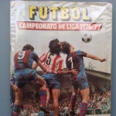 Coleccionismo deportivo: ALBUM FUTBOL EDICS ESTE TEM 1976 1977 76 77 CASI COMPLETO 284 CROMOS SIN FICHAJES PEGADOS VENTANILLA. Lote 176334225