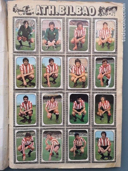 Coleccionismo deportivo: ALBUM FUTBOL EDICS ESTE TEM 1976 1977 76 77 CASI COMPLETO 284 CROMOS SIN FICHAJES PEGADOS VENTANILLA - Foto 3 - 176334225