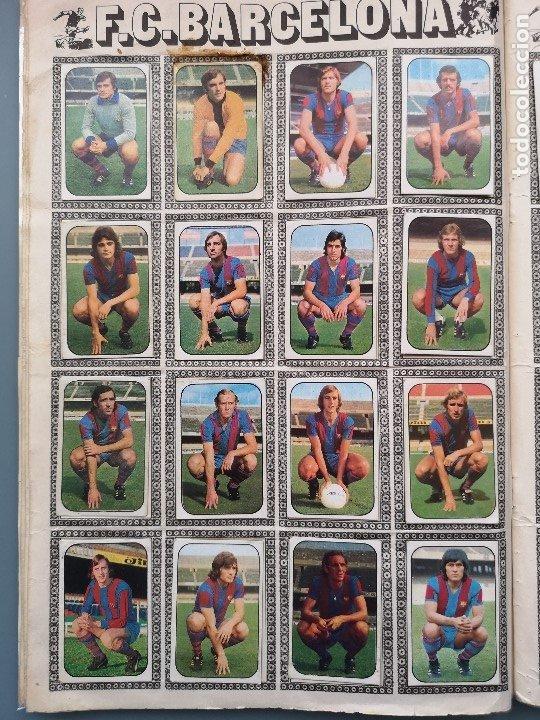 Coleccionismo deportivo: ALBUM FUTBOL EDICS ESTE TEM 1976 1977 76 77 CASI COMPLETO 284 CROMOS SIN FICHAJES PEGADOS VENTANILLA - Foto 8 - 176334225