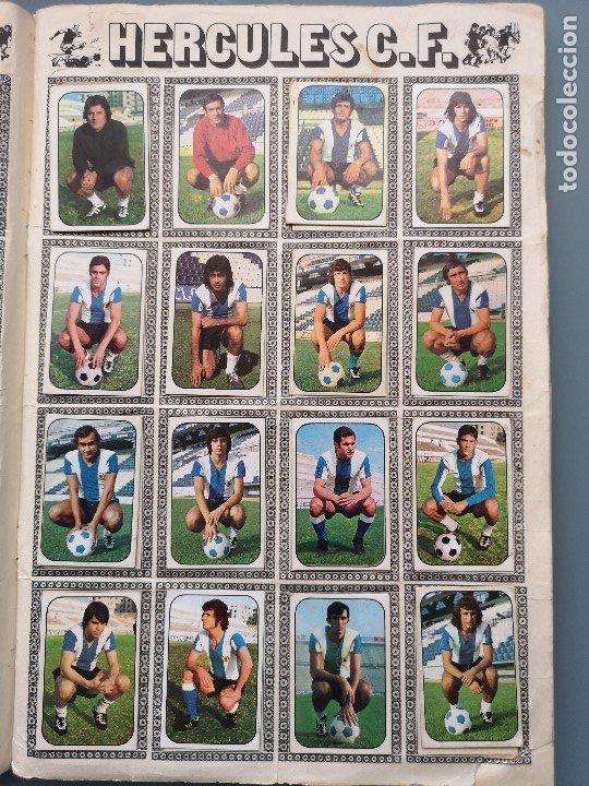 Coleccionismo deportivo: ALBUM FUTBOL EDICS ESTE TEM 1976 1977 76 77 CASI COMPLETO 284 CROMOS SIN FICHAJES PEGADOS VENTANILLA - Foto 9 - 176334225