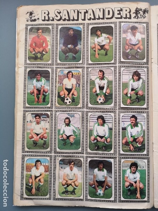 Coleccionismo deportivo: ALBUM FUTBOL EDICS ESTE TEM 1976 1977 76 77 CASI COMPLETO 284 CROMOS SIN FICHAJES PEGADOS VENTANILLA - Foto 11 - 176334225
