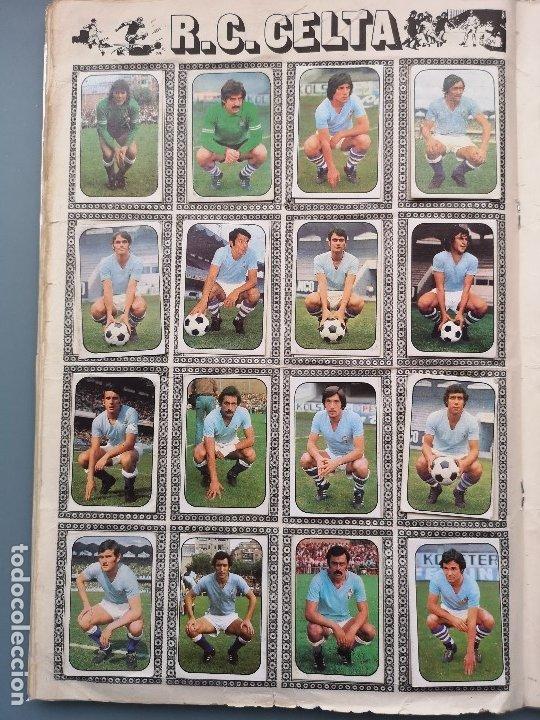 Coleccionismo deportivo: ALBUM FUTBOL EDICS ESTE TEM 1976 1977 76 77 CASI COMPLETO 284 CROMOS SIN FICHAJES PEGADOS VENTANILLA - Foto 13 - 176334225