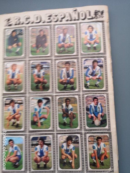 Coleccionismo deportivo: ALBUM FUTBOL EDICS ESTE TEM 1976 1977 76 77 CASI COMPLETO 284 CROMOS SIN FICHAJES PEGADOS VENTANILLA - Foto 14 - 176334225