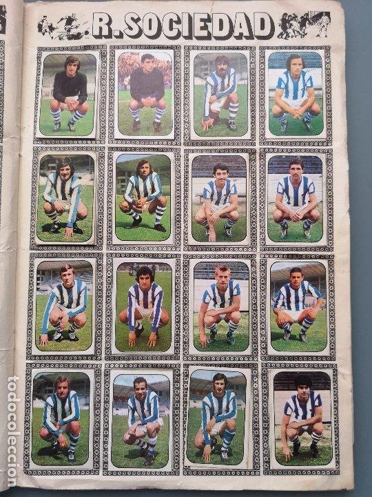 Coleccionismo deportivo: ALBUM FUTBOL EDICS ESTE TEM 1976 1977 76 77 CASI COMPLETO 284 CROMOS SIN FICHAJES PEGADOS VENTANILLA - Foto 16 - 176334225