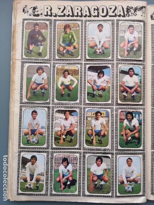 Coleccionismo deportivo: ALBUM FUTBOL EDICS ESTE TEM 1976 1977 76 77 CASI COMPLETO 284 CROMOS SIN FICHAJES PEGADOS VENTANILLA - Foto 17 - 176334225