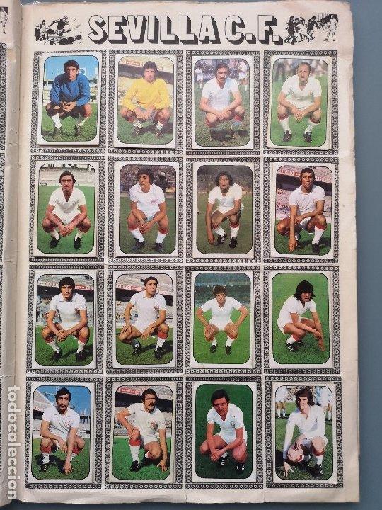 Coleccionismo deportivo: ALBUM FUTBOL EDICS ESTE TEM 1976 1977 76 77 CASI COMPLETO 284 CROMOS SIN FICHAJES PEGADOS VENTANILLA - Foto 18 - 176334225