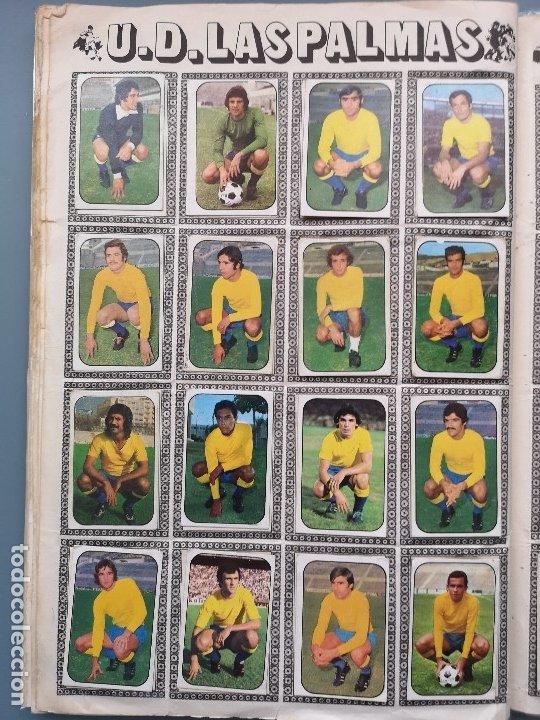 Coleccionismo deportivo: ALBUM FUTBOL EDICS ESTE TEM 1976 1977 76 77 CASI COMPLETO 284 CROMOS SIN FICHAJES PEGADOS VENTANILLA - Foto 19 - 176334225