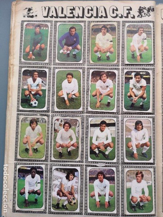 Coleccionismo deportivo: ALBUM FUTBOL EDICS ESTE TEM 1976 1977 76 77 CASI COMPLETO 284 CROMOS SIN FICHAJES PEGADOS VENTANILLA - Foto 21 - 176334225