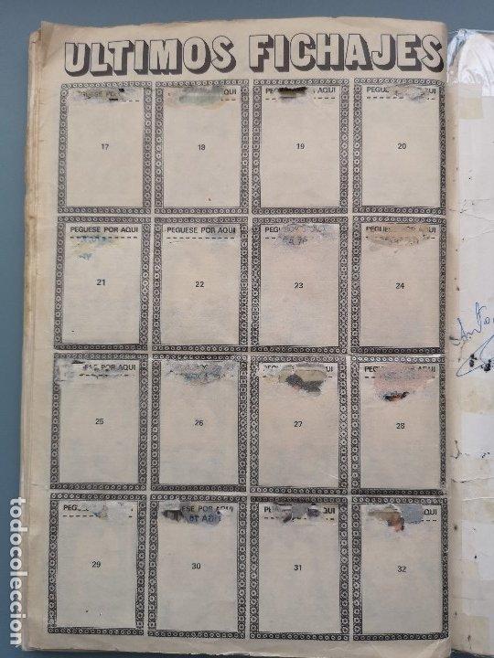 Coleccionismo deportivo: ALBUM FUTBOL EDICS ESTE TEM 1976 1977 76 77 CASI COMPLETO 284 CROMOS SIN FICHAJES PEGADOS VENTANILLA - Foto 23 - 176334225