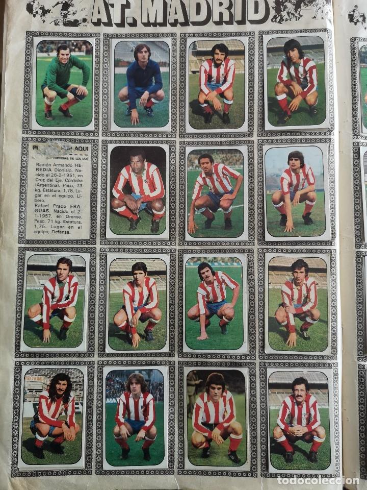 Coleccionismo deportivo: ALBUM FUTBOL EDICS ESTE TEM 1976 1977 76 77 CASI COMPLETO 284 CROMOS SIN FICHAJES PEGADOS VENTANILLA - Foto 4 - 176334225