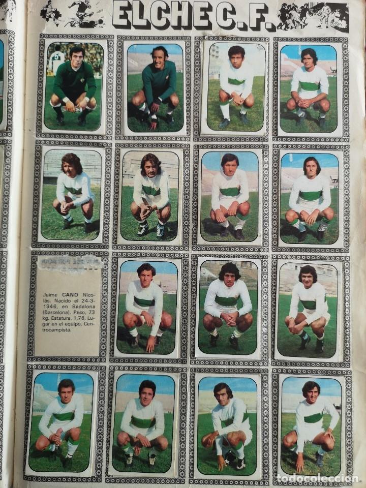 Coleccionismo deportivo: ALBUM FUTBOL EDICS ESTE TEM 1976 1977 76 77 CASI COMPLETO 284 CROMOS SIN FICHAJES PEGADOS VENTANILLA - Foto 7 - 176334225
