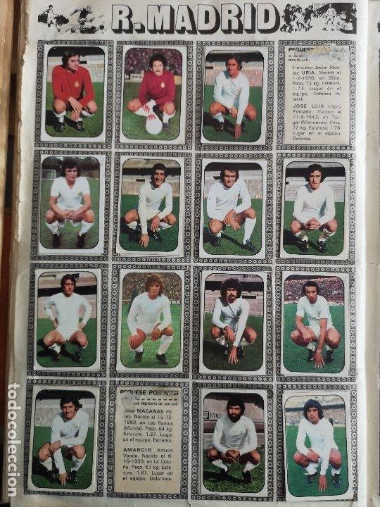 Coleccionismo deportivo: ALBUM FUTBOL EDICS ESTE TEM 1976 1977 76 77 CASI COMPLETO 284 CROMOS SIN FICHAJES PEGADOS VENTANILLA - Foto 15 - 176334225